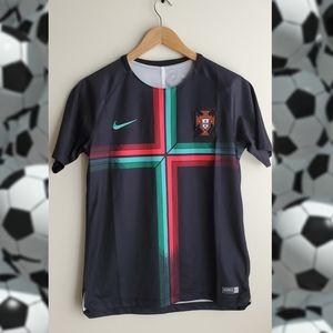 Authentic Portugal Soccer Jersey Youth XL